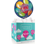 Birthday Celebrations - Balloon in a Box Gifts - Balloon Gift Delivery - Birthday Balloon Gifts - Birthday Balloon in a Box